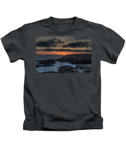 Mendocino Sunset Kids T-Shirt