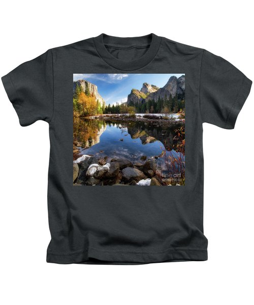 Merced Reflections Kids T-Shirt