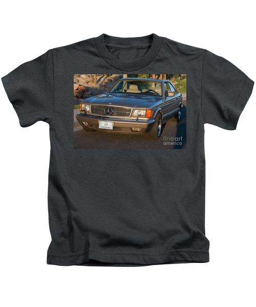 Mercedes 560sec W126 Kids T-Shirt