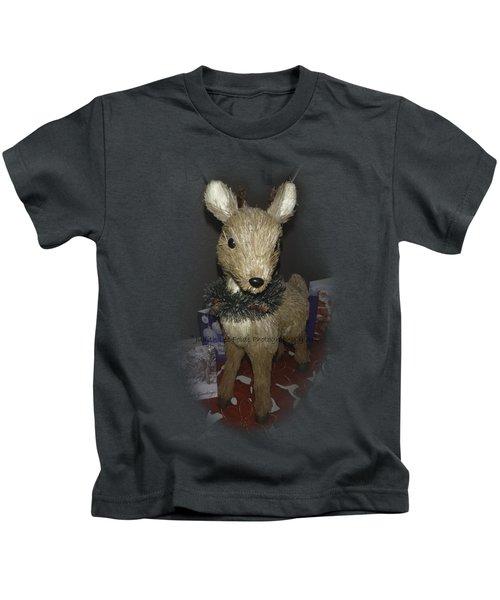 Merry Christmas Deer Kids T-Shirt