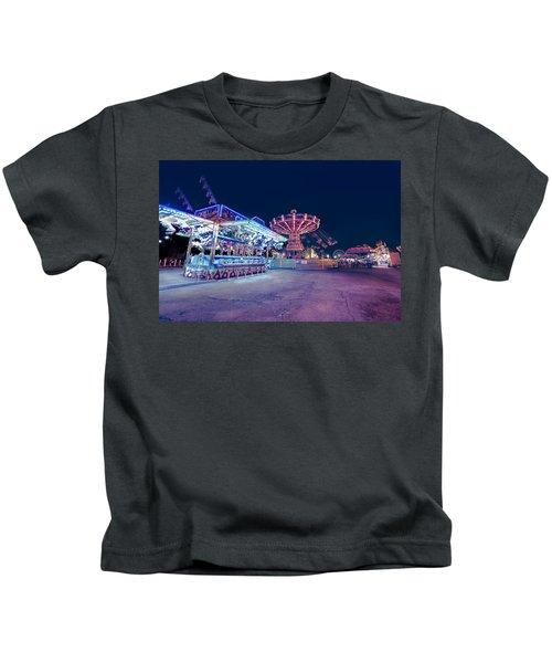 Merry Go Creepy Kids T-Shirt