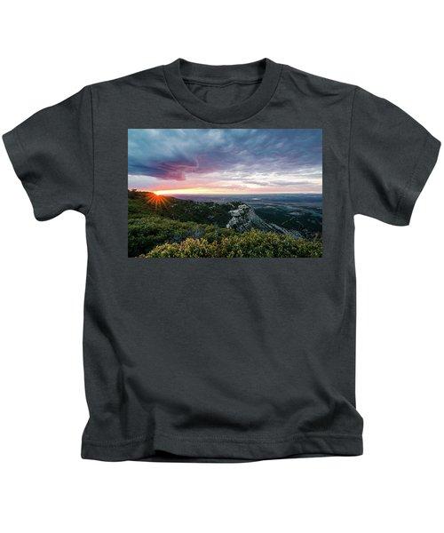 Mesa Verde Sunset Kids T-Shirt