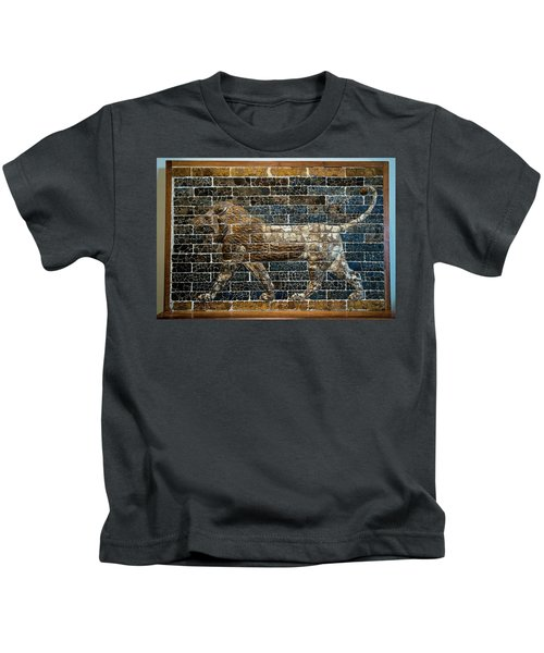Mesopotamian Lion Kids T-Shirt