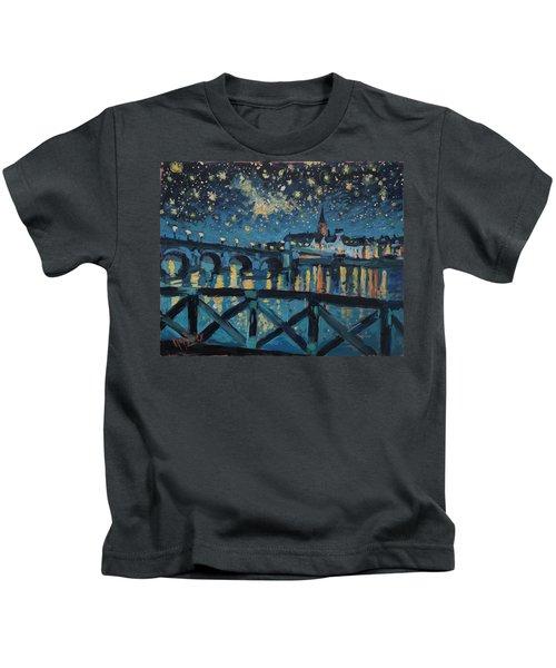 Mestreechter Staarenach Staryy Night Maastricht Kids T-Shirt