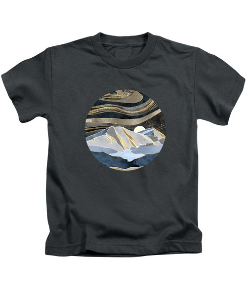 Metallic Sky Kids T-Shirt