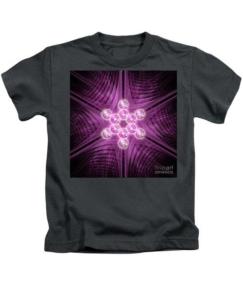 Metatron's Cube Atomic Kids T-Shirt
