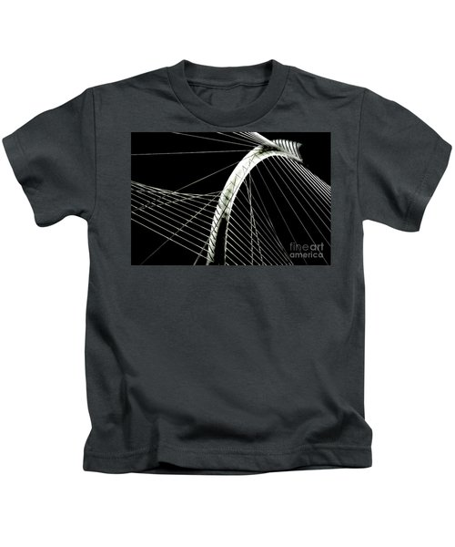 Mhhbridge Morning Fog Kids T-Shirt