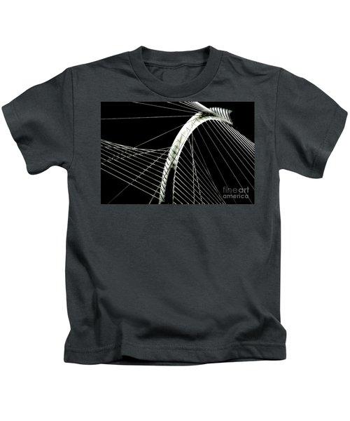 Mhhbridge Morning Fog Kids T-Shirt