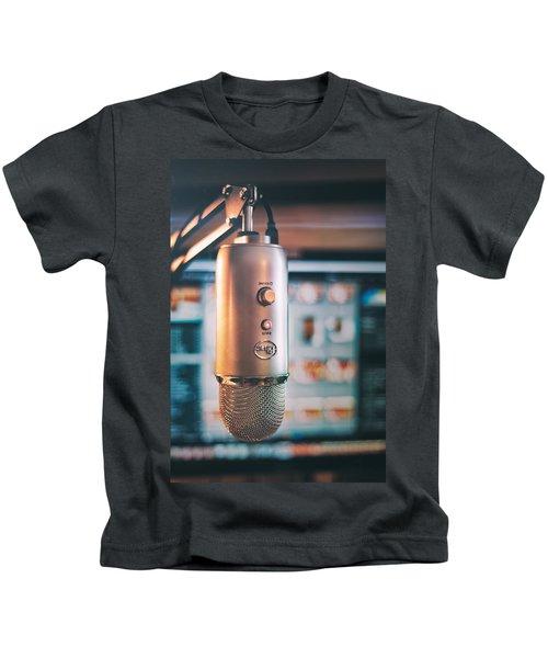 Mic Check 1 2 3 Kids T-Shirt