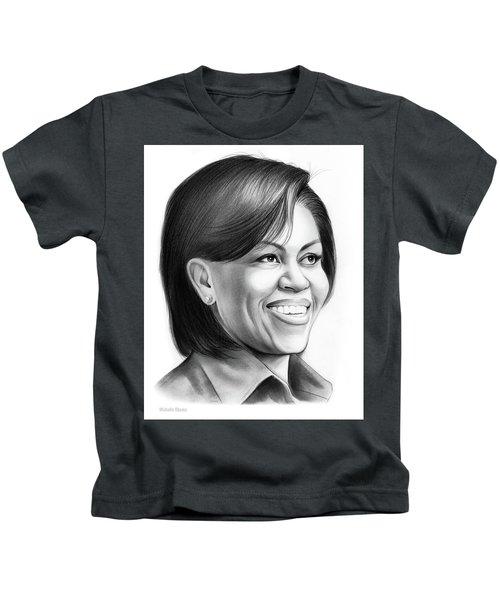 Michelle Obama Kids T-Shirt