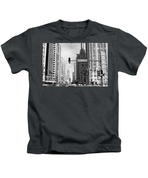 Michigan Ave - Chicago Kids T-Shirt