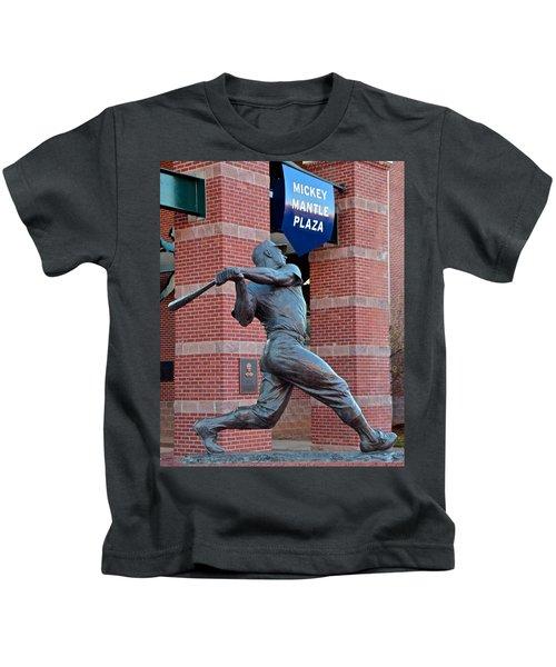 Mickey Mantle Kids T-Shirt