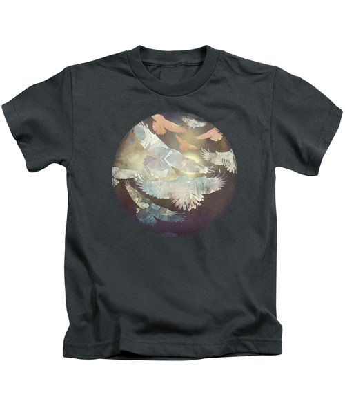 Midnight Flight Kids T-Shirt