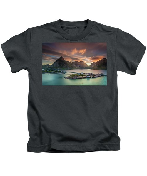 Midnight Sun Galore Kids T-Shirt