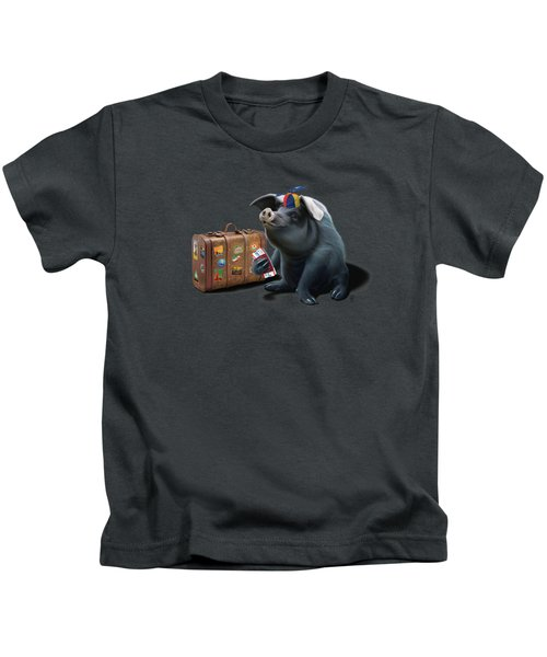 Might Wordless Kids T-Shirt