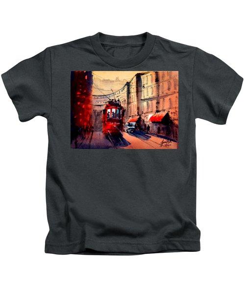 Milan Tram 2 Kids T-Shirt