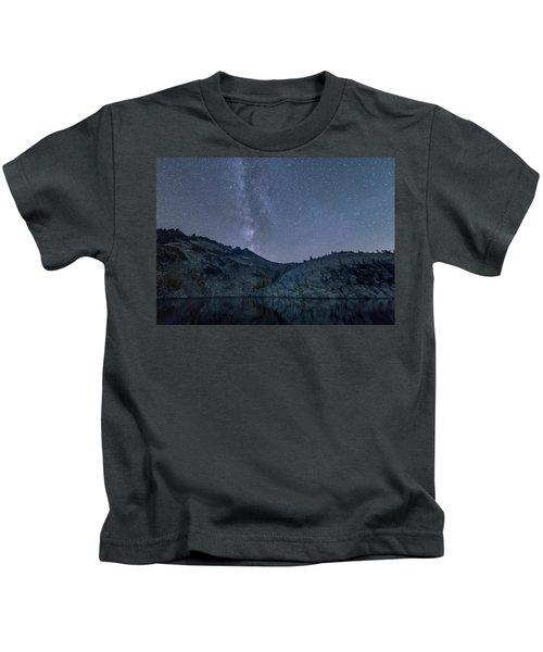 Milky Way At The Enchantments Kids T-Shirt