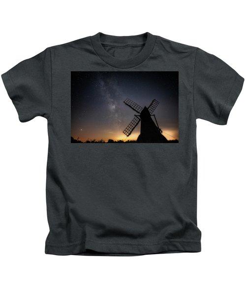 Milky Way At Wicken Kids T-Shirt