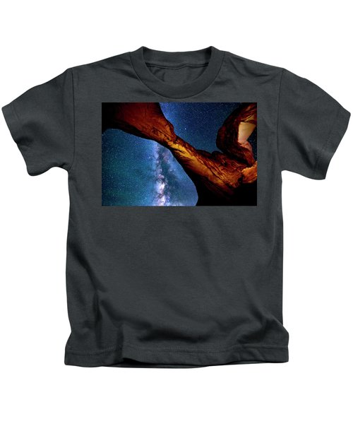 Milkyway At Arches Kids T-Shirt