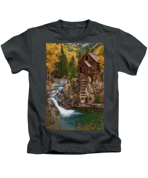 Mill In The Mountains Kids T-Shirt