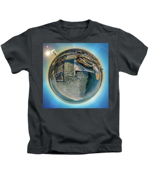 Milwaukee Pierhead Light Little Planet Kids T-Shirt