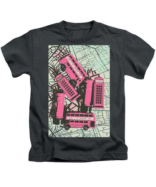 Miniature London Town Kids T-Shirt
