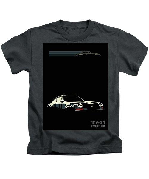Minimalist Porsche Kids T-Shirt
