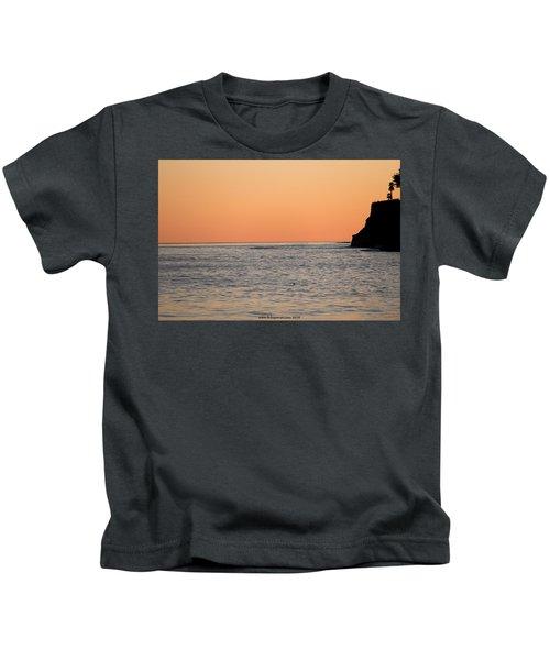 Minimalist Sunset Kids T-Shirt
