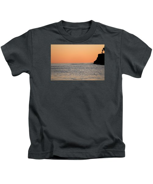Minimalist Sunset Kids T-Shirt