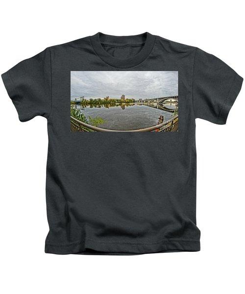 Minneapolis Shoreline Kids T-Shirt
