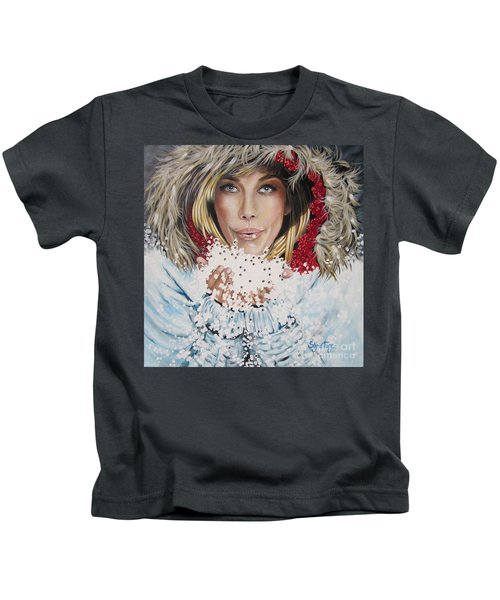 Remarkable Russian Girl.            From The Attitude Girls  Kids T-Shirt