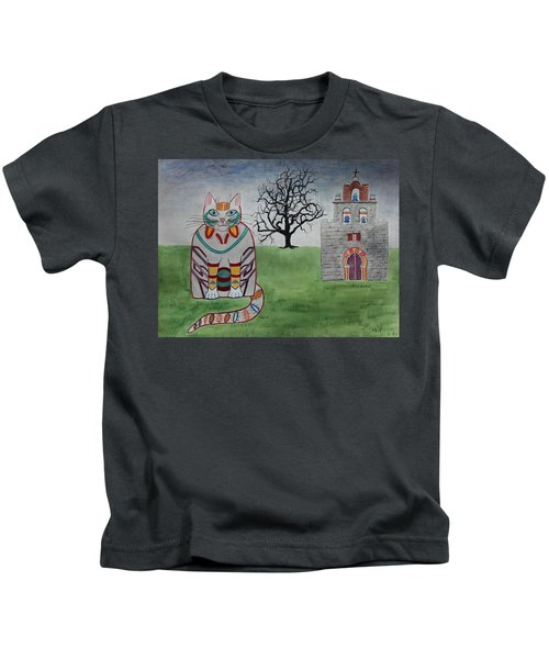 Mission Espada Cat Kids T-Shirt