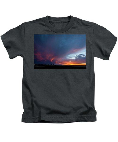 Missouri Sunset Kids T-Shirt