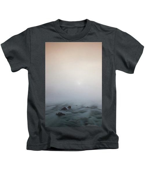 Mist Over The Third Stone From The Sun Kids T-Shirt