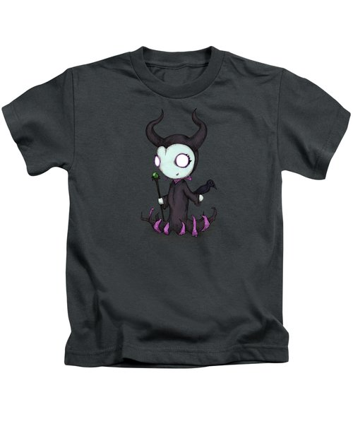 Mistress Of All Evil Kids T-Shirt