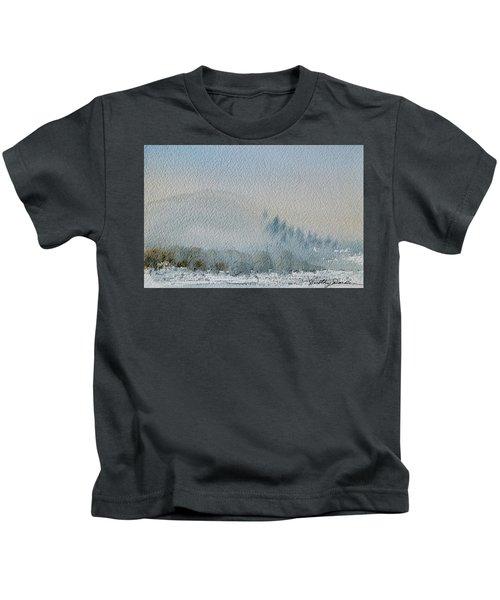 A Misty Morning Kids T-Shirt