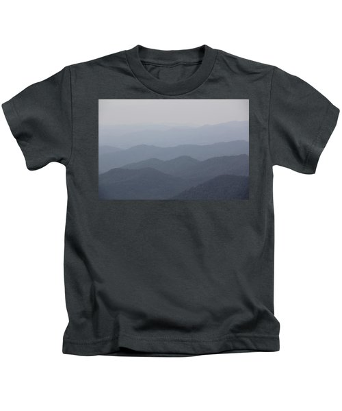 Misty Mountains Kids T-Shirt