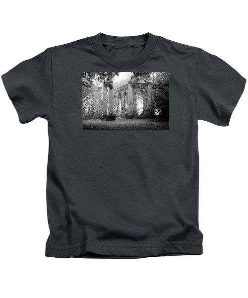 Misty Ruins Kids T-Shirt