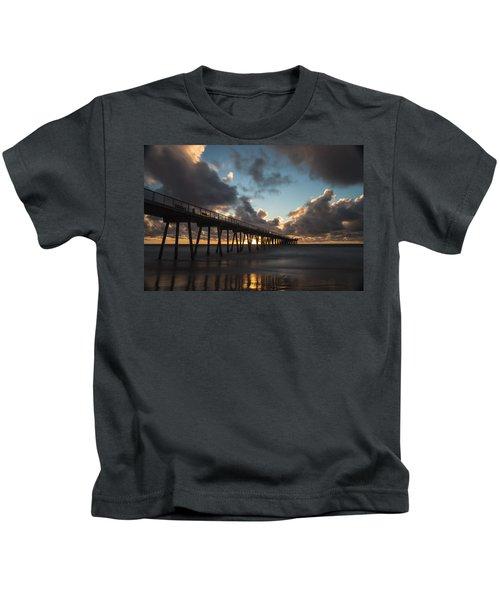 Misty Sunset Kids T-Shirt