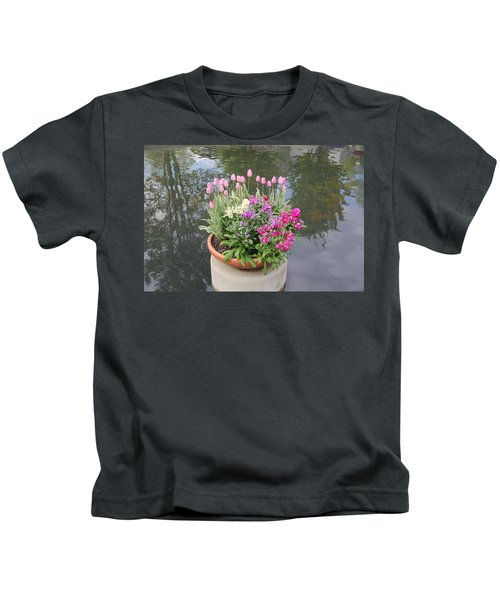 Mixed Flower Planter Kids T-Shirt