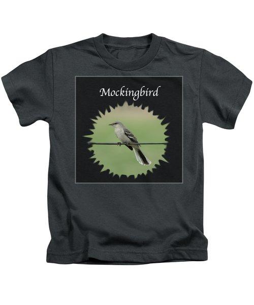 Mockingbird      Kids T-Shirt by Jan M Holden
