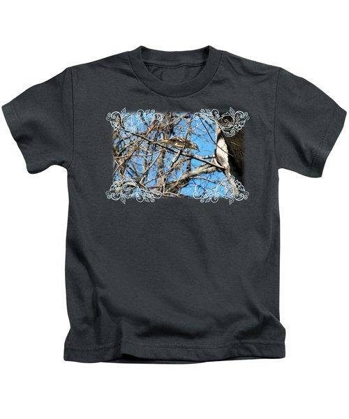 Mockingbird Kids T-Shirt by Katherine Nutt