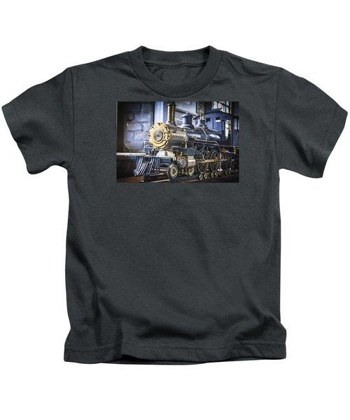 Model Train Kids T-Shirt