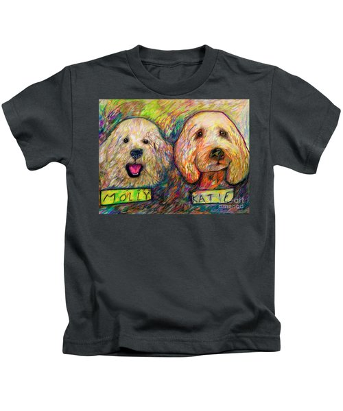 Molly And Katie Kids T-Shirt