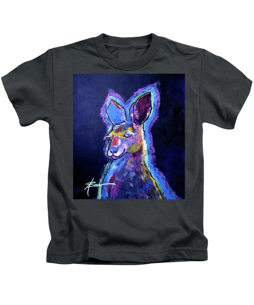 Mona Lisa 'roo Kids T-Shirt