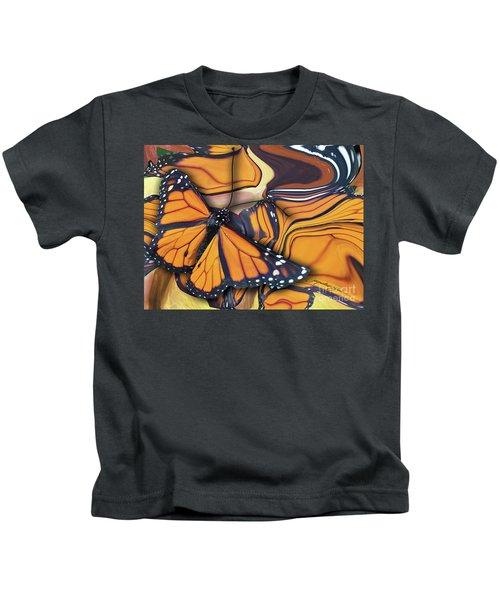 Monarch Flight Kids T-Shirt