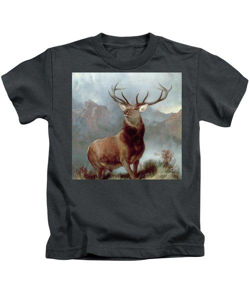 Monarch Of The Glen Kids T-Shirt