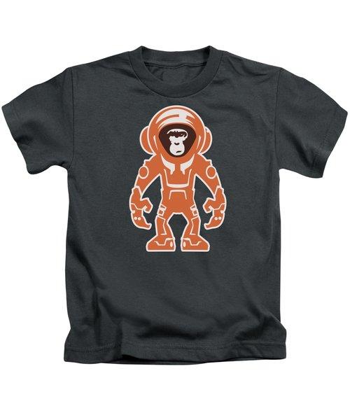 Monkey Crisis On Mars Kids T-Shirt