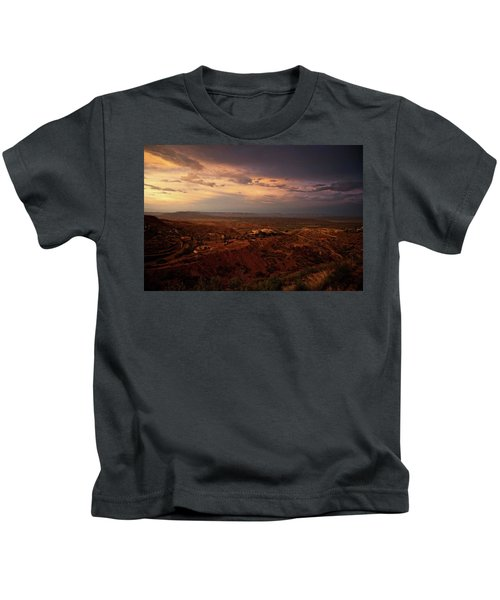 Monsoon Storm Afterglow Kids T-Shirt