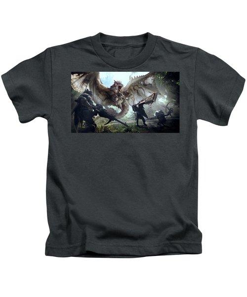 Monster Hunter World Kids T-Shirt